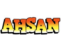 Ahsan sunset logo