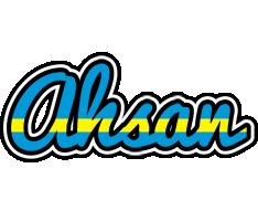 Ahsan sweden logo