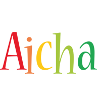 Aicha birthday logo