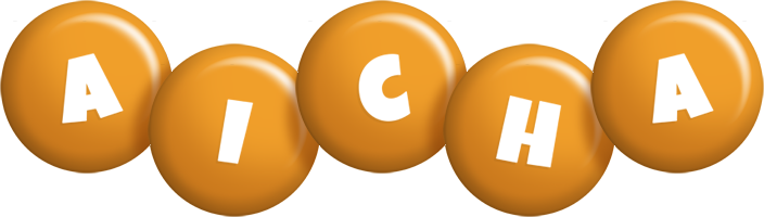 Aicha candy-orange logo