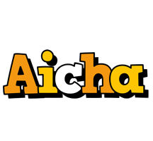 Aicha cartoon logo