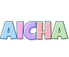 Aicha pastel logo