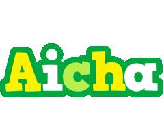 Aicha soccer logo