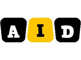 Aid boots logo