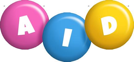 Aid candy logo