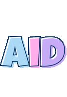 Aid pastel logo