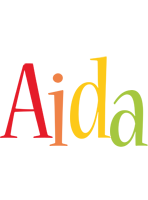 Aida birthday logo