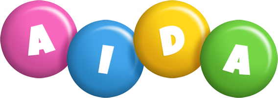 Aida candy logo