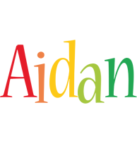 Aidan birthday logo