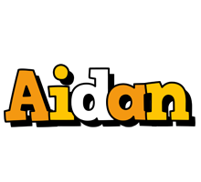 Aidan cartoon logo