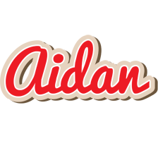 Aidan chocolate logo