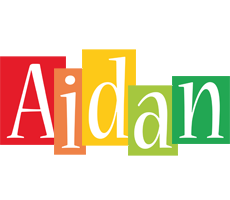 Aidan colors logo