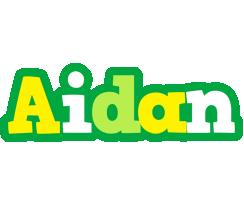 Aidan soccer logo