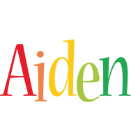 Aiden birthday logo