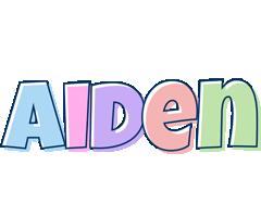 Aiden pastel logo
