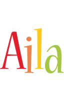 Aila birthday logo