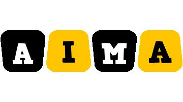 Aima boots logo