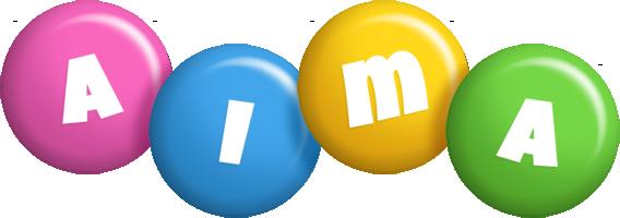 Aima candy logo