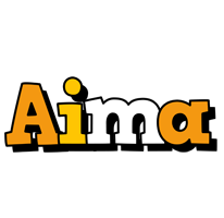 Aima cartoon logo