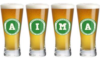 Aima lager logo