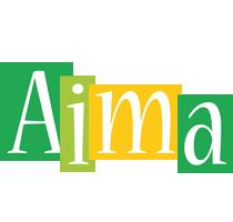 Aima lemonade logo
