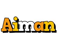 Aiman cartoon logo