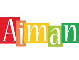 Aiman colors logo