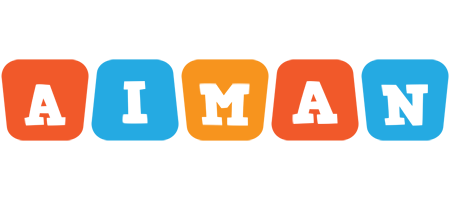 Aiman comics logo