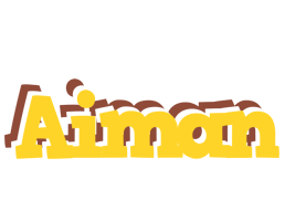 Aiman hotcup logo