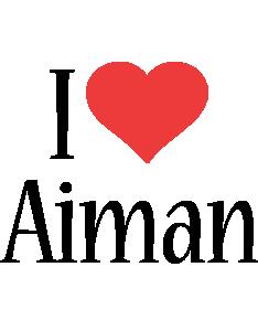 Aiman i-love logo