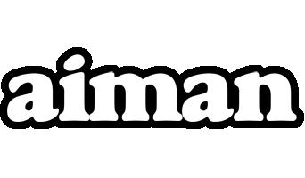 Aiman panda logo