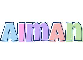 Aiman pastel logo