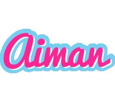 Aiman popstar logo