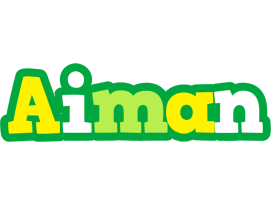 Aiman soccer logo