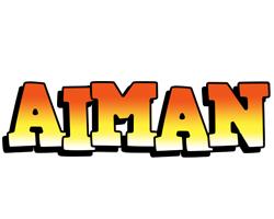 Aiman sunset logo