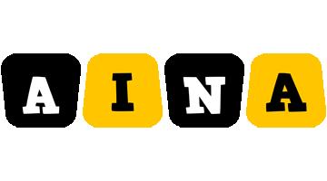 Aina boots logo