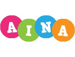 Aina friends logo