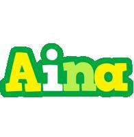 Aina soccer logo