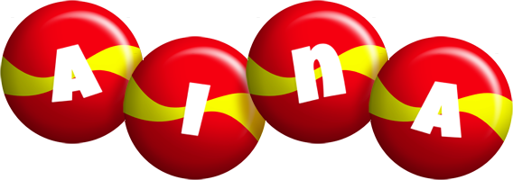 Aina spain logo