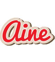 Aine chocolate logo
