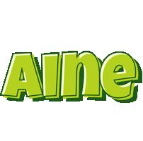 Aine summer logo