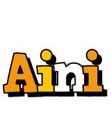 Aini cartoon logo
