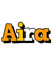 Aira cartoon logo