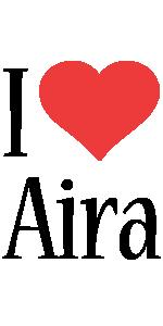 Aira i-love logo