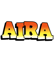 Aira sunset logo
