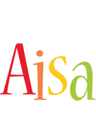 Aisa birthday logo