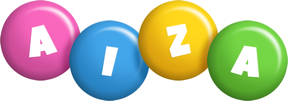 Aiza candy logo