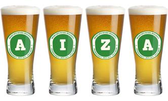 Aiza lager logo