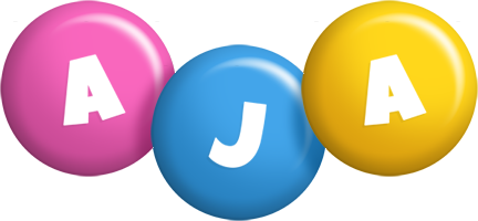 Aja candy logo