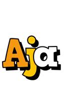 Aja cartoon logo